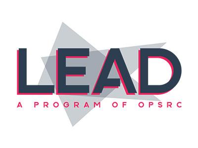 Lead Program print design print branding education brand logo