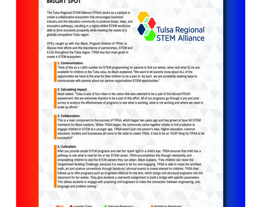 Oklahoma Partnership for Expanded Learning (OPEL) design oklahoma logo education branding