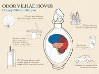Scent of New Vilnius / Illustration