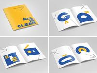 Brochure / zine about communication