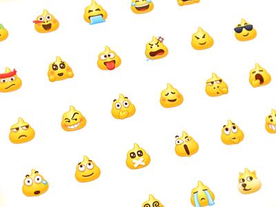 Poop Emoji kkwj qiushibaike poop shit iconography icon expressions emotions face emoji