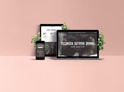 Tecumseh Outdoor Drama Responsive Website