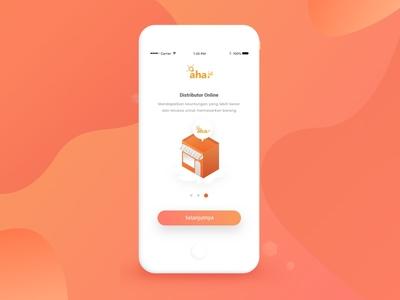 Onboarding Screens - E-commerce