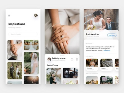 Wedding Vendor App