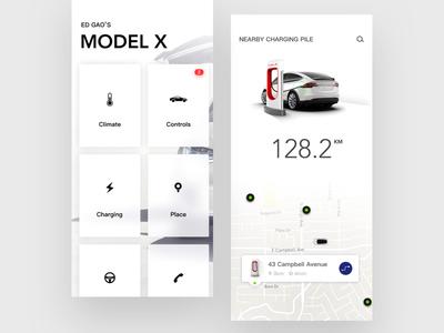 Tesla Car Owner App