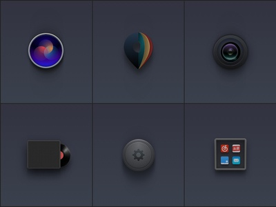 A set of electric car related icons