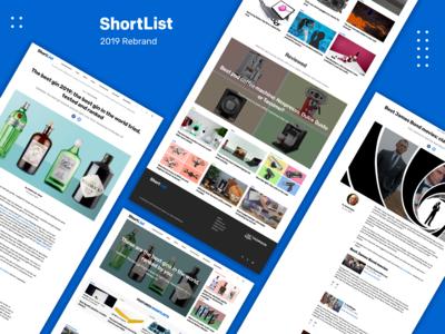 Shortlist 2019 Rebrand