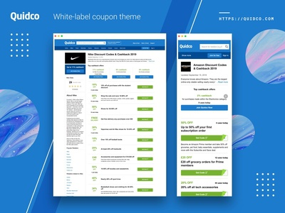 Quidco White-label Coupon Theme