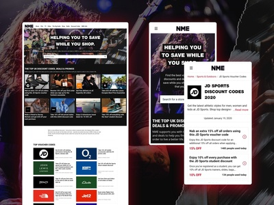 NME Coupon Theme
