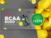 BCAA Lemon Flavour Launch