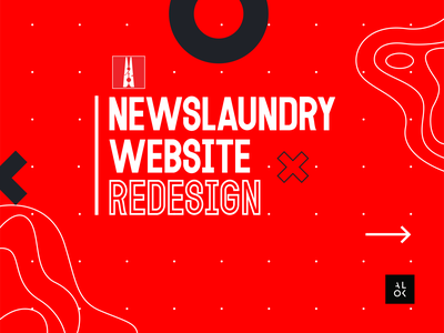 Newslaundry Website Redesign ui  ux homepage resign website design website concept homepage design homepage dribbble alok design newsfeed uidesign news newslaundry uiux design uiuxdesign uiux ux ui ui design redesign