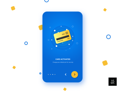 Card Activated | UI Design