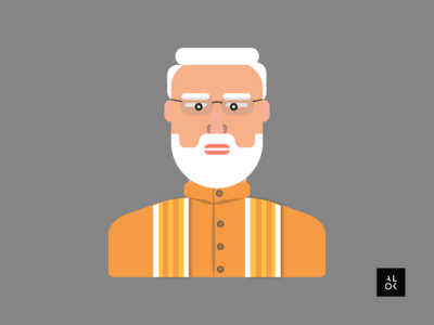 Narendra Modi | Character Design Illustration