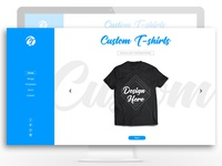 Custom T Shirts web application