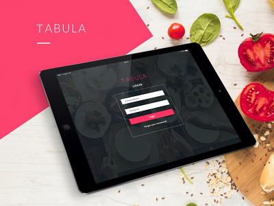 Tabula Restaurant Admin Dashboard and Website Design adobe photoshop adobe xd restaurants ux  ui ui design admin dashboard web design