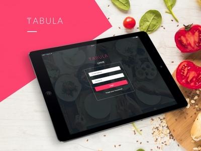 Tabula Restaurant Admin Dashboard and Website Design