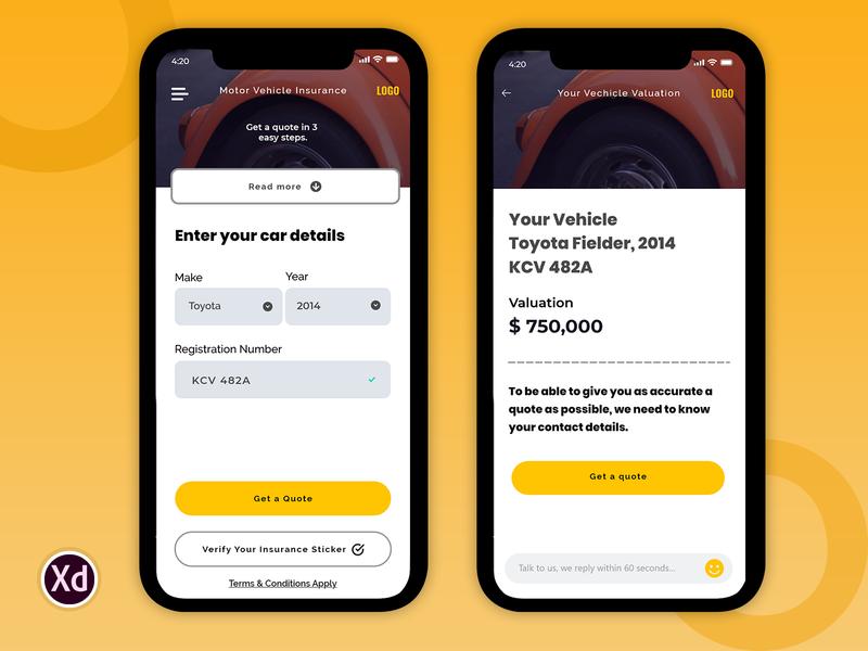 screen01 android app design insurance app clean app design uidesign animaiton ui creative app mobile app ux iphone app