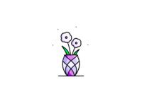Purple peony 🌸