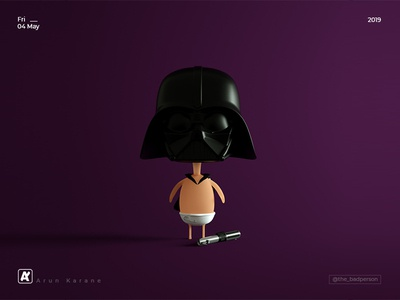 Baby Darth Vader