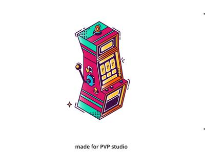 Casino painting illust fineart design vector isometric illustration drawing creative art 2d