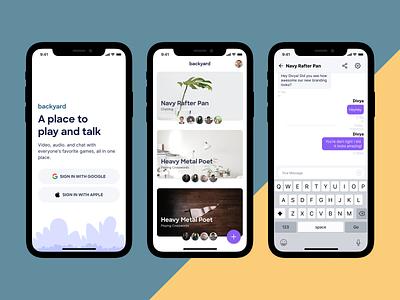Mobile alpha work. ios ux app design product ui