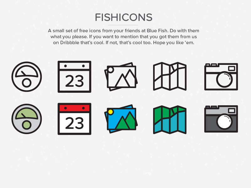 Fishicons freebie 01