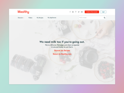 Mealthy 404