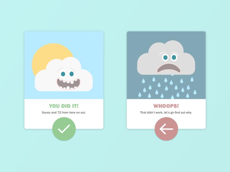 Daily UI 11 Flash Message dailyui11 vector ui app ux illustration product design