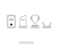 Icons for an awards company