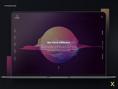 Creative Agency Web design creative agency uidesign ui design ux design design ux ui landing page
