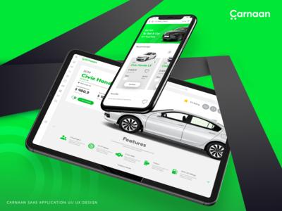Carnaan - Leasing Car App | Ui / Ux Design