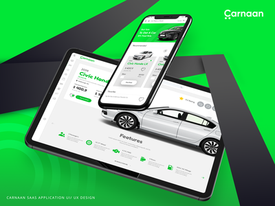 Carnaan - Leasing Car App | Ui / Ux Design app ui  ux design uidesign ui design ux ux design uiux ui saas app design