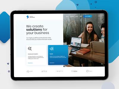 Atomic Businesses agency uidesign ui  ux design design ux design landing page ui design uiux ui