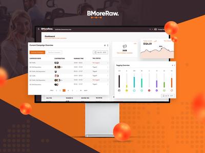 BMore Raw  | SaaS App Ui / Ux design