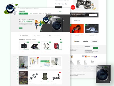 Caragoo | Ecommerce Ui / Ux design & development