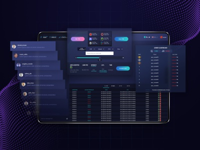 Tron - Crypto Application saas uiux ui user experience user interface web application cryptocurrency