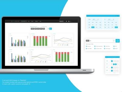 Statbliss Web App Design