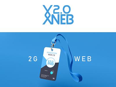 2gweb association branding illustration brand logo 2d logo creative photoshop illustrator design