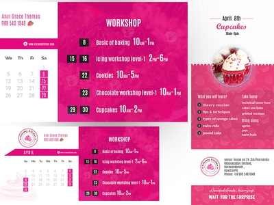 kreamykitchen Workshop Banner
