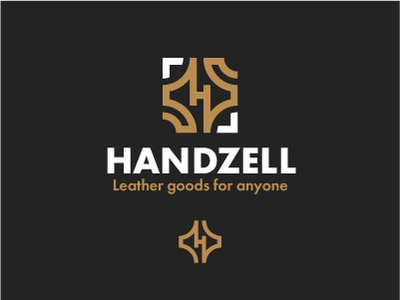 Manufacture of leather goods logo atelier tailoring leather goods production