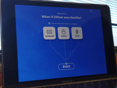 Zillow as Netflix Voice interactions with ProtoPie design css animation css code ux app animation ui adobexd protopie playoff pieday