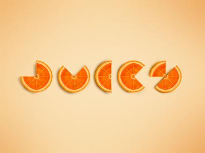 Juicy illustration procreate clementine cutie tangerine yellow segments slice vitamin c juicy juice fruity fruit citrus orange