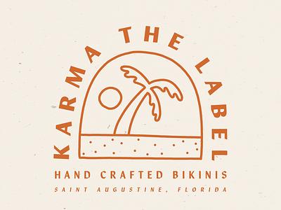 Karma the Label palm tree clothing beach bathing suit bikini