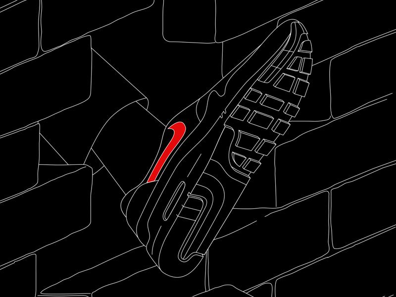 Nike Air Max 1 nike air max 1 nike air max nike typography poster poster design graphic design