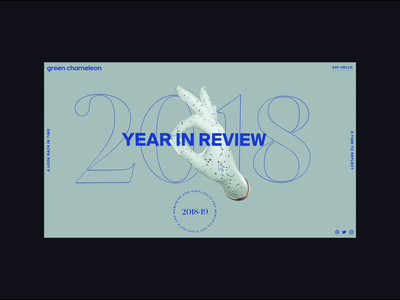 2018: Year In Review 3d ux web design interactive interaction design javascript gsap web ui threejs webgl motion animation