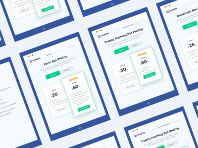 Pricing Plans - UI Design
