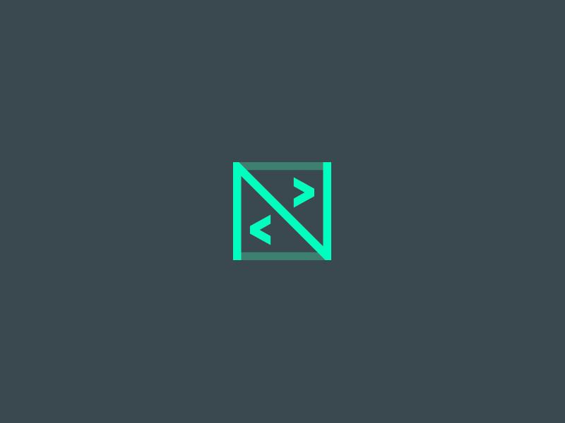 N+Code Logo bots coding developing coding logo logo code developing logo ncode logo code logo inspiration logo