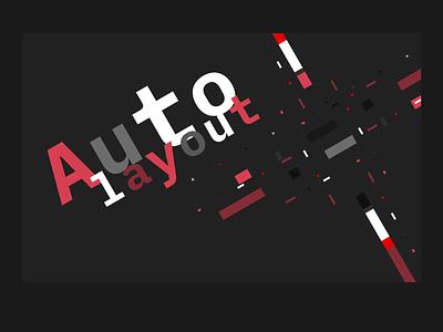 Figma Auto Layout + Smart Animate font video animated gif smart animate auto layout figma lines design ui flat typography identity branding interaction design animation clean minimal