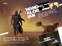 The Mandalorian Promo Site Figma Smart Animate
