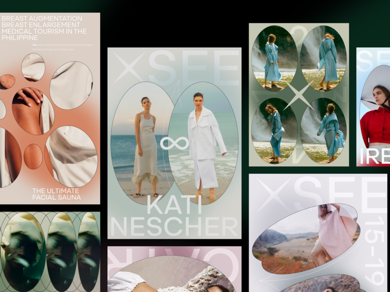 XSEE MOBILE mobile iphone ipad photo typography branding fashion slide book design news web interface